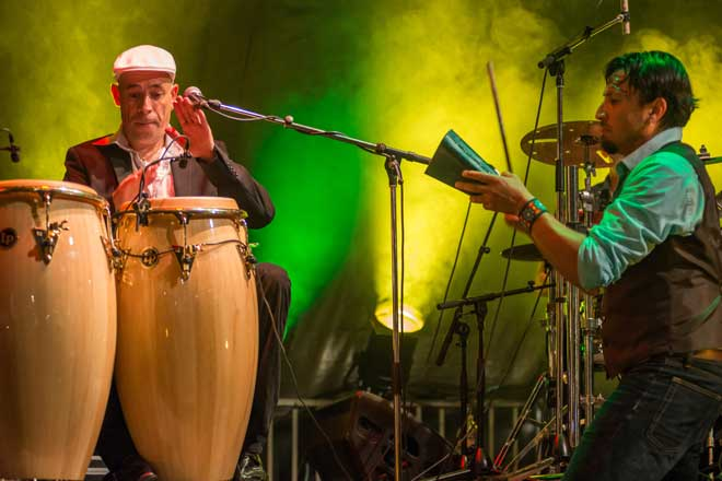 Mike Delevallez et Cristian Zarate, Manteca, Salsa y latin Jazz, Nantes